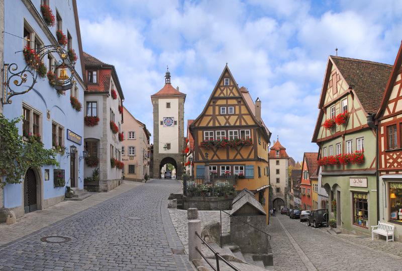 Rothenburg ob der Tauber (Foto Plönlein)