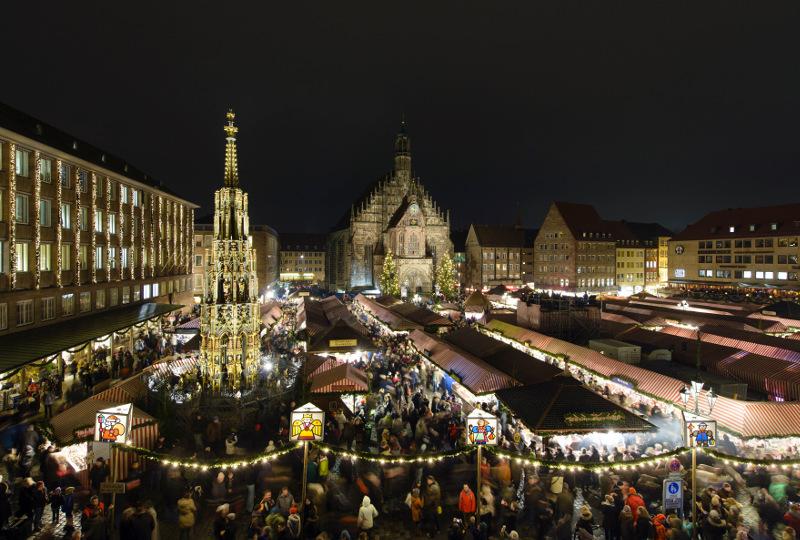 Christkindelsmarkt Nürnberg (Foto Niklas)