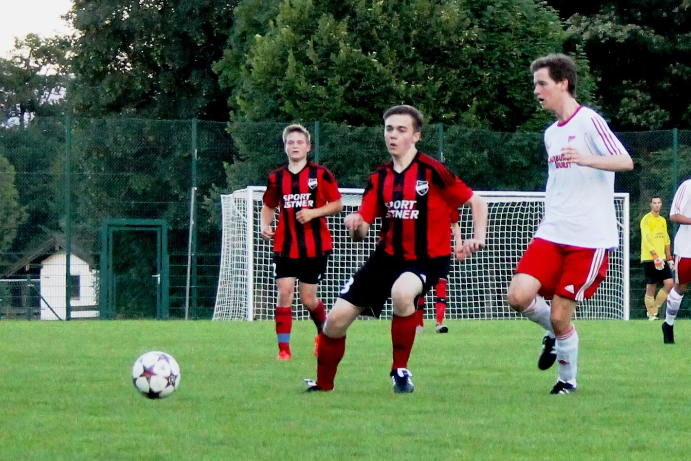 Erstes Spiel (Pokal gegen SV Miesbach am 20.7.2016)