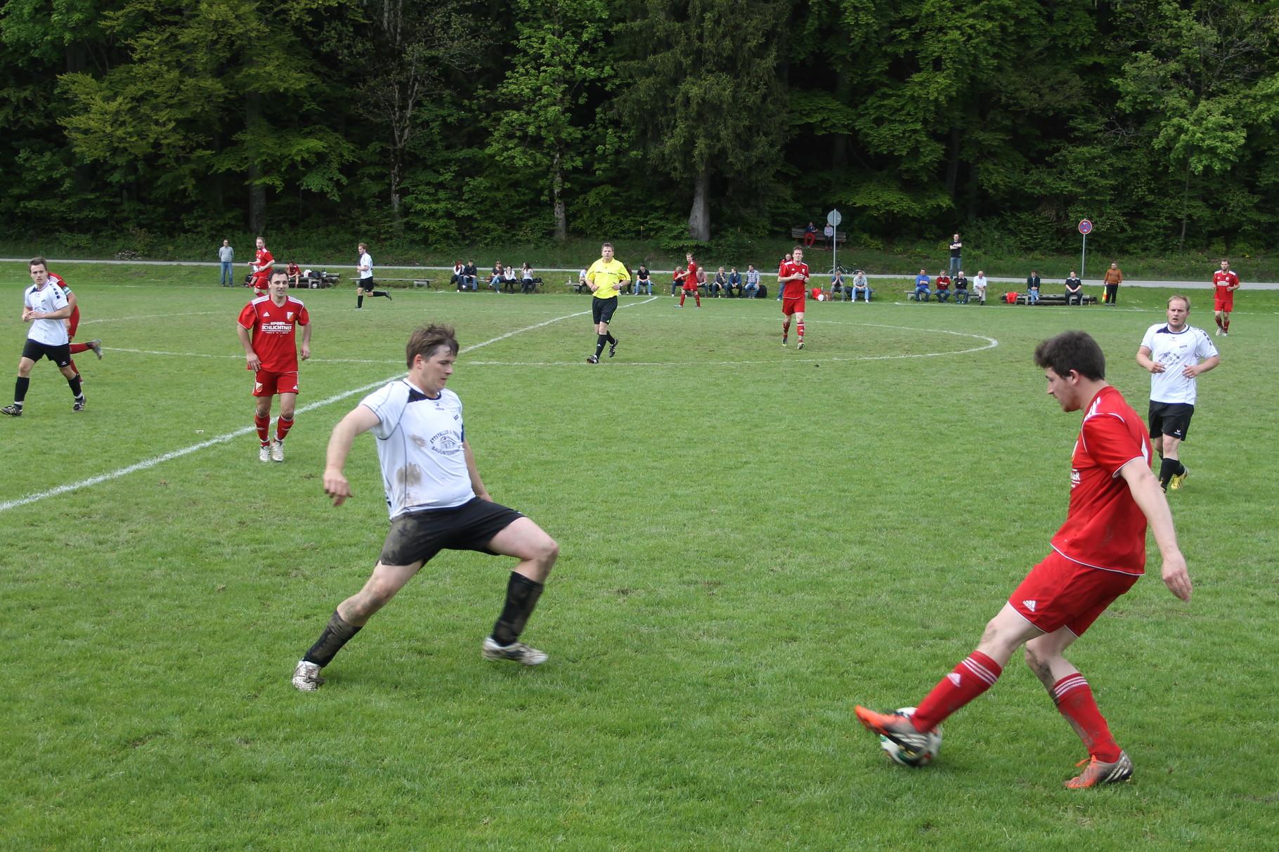 Gegen FC Real Kreuth II am 18.5.2014