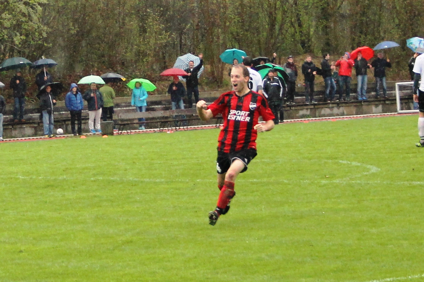 Gegen FC Rottach Egern. April 2016