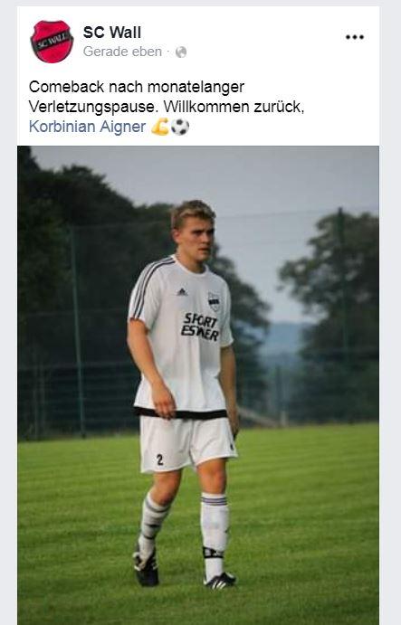 Gegen den TSV Otterfing am 24.7.2019