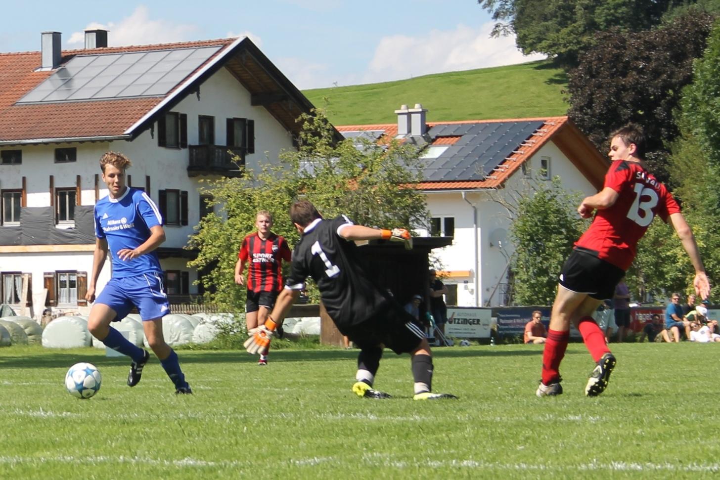 Beim SV Parsberg (7:2) am 14.8.2016