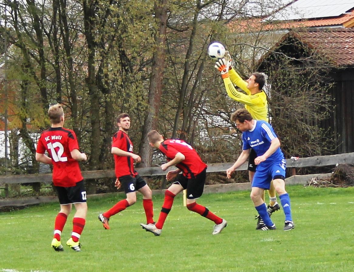 Gegen den SV Parsberg (3:0) - April 2016
