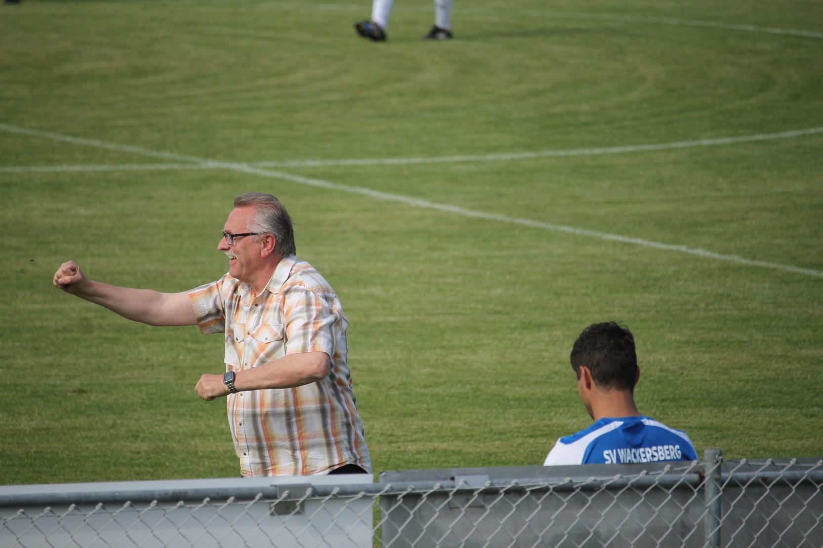Gegen SV Wackersberg. Juni 2017