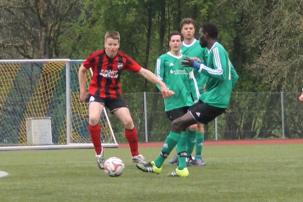 Beim TSV Bad Wiessee (0:1) am 23.4.2016