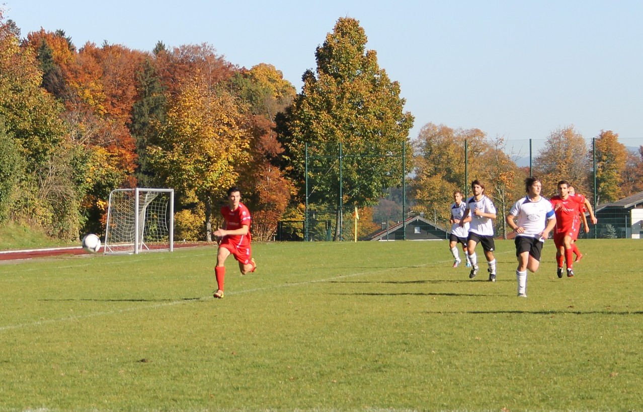 Gegen den FC Hausham (6:0). Herbst 2012