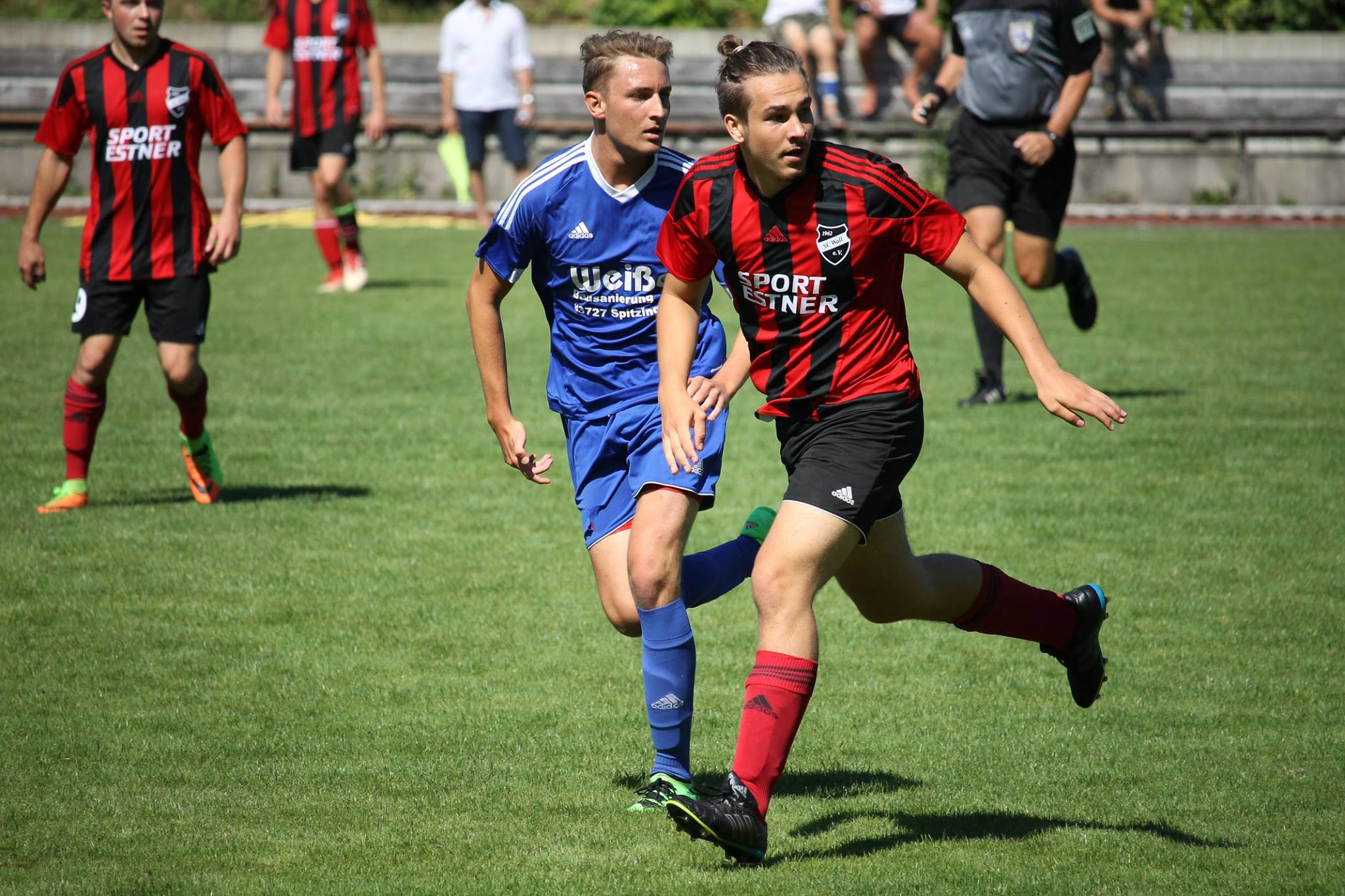 Gegen den TSV Schliersee (0:2) am 12.8.2018