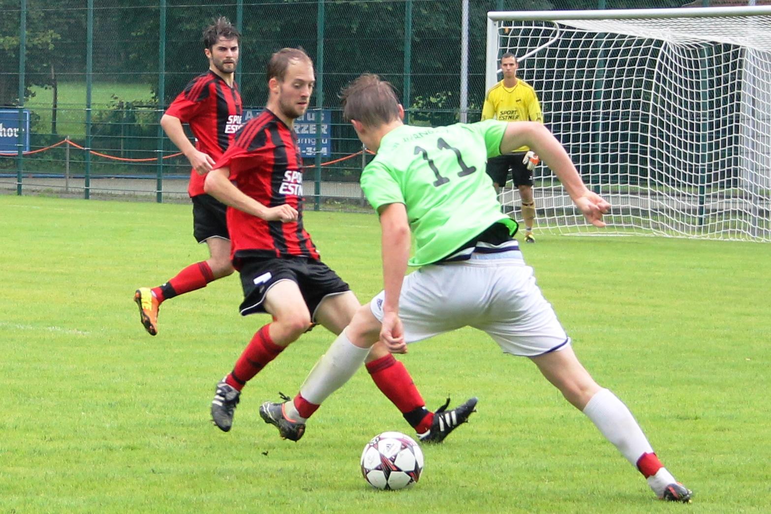 Testspiel gegen den SV Warngau (0:2) am 31.07.2016
