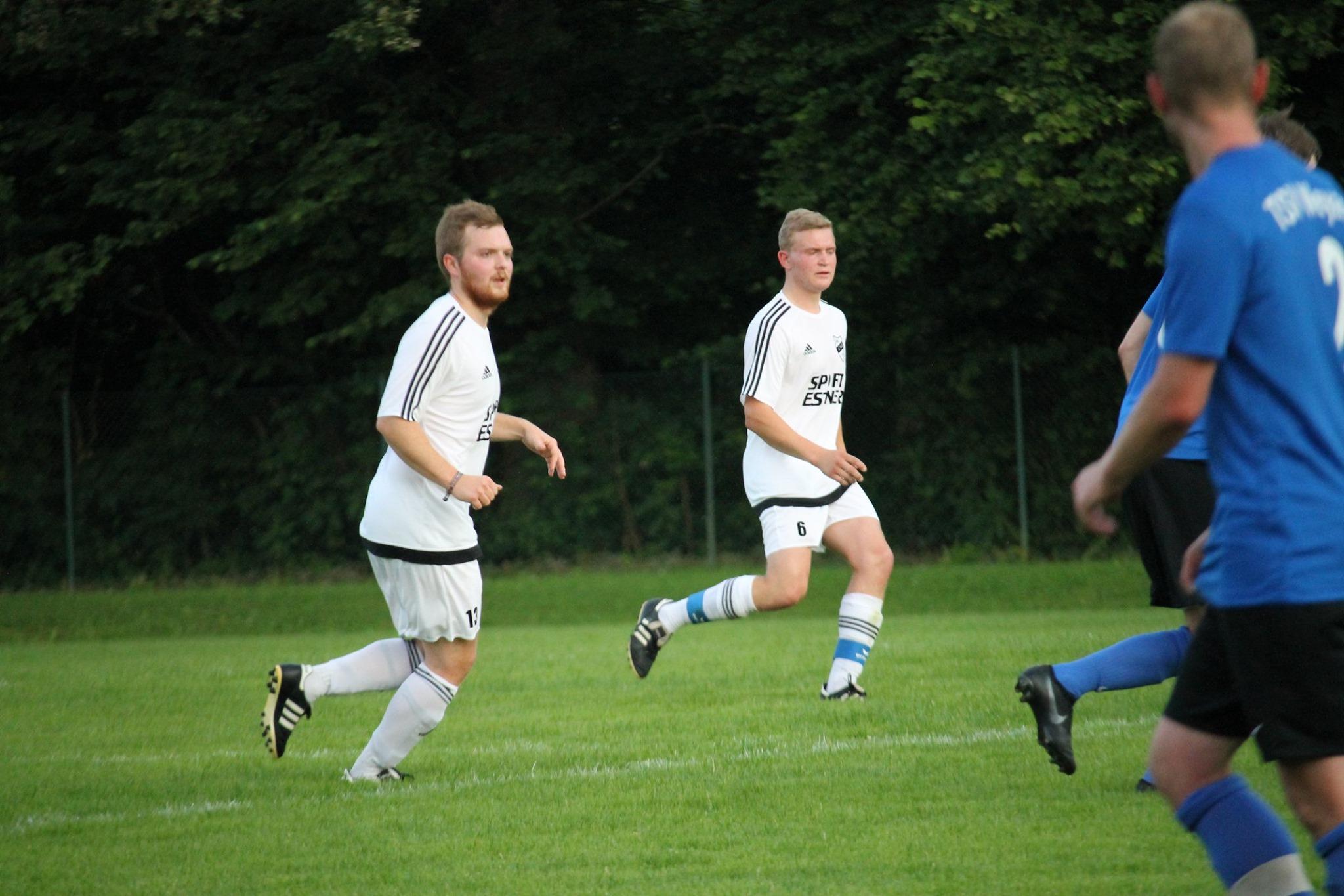 Pokalspiel gegen TSV Weyarn, Juli 2019