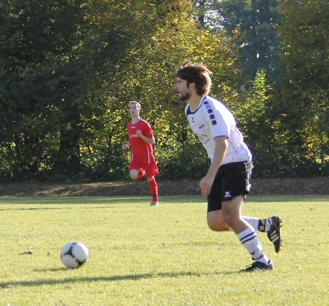 Gegen den FC Hausham 07 (6:0) im Herbst 2012