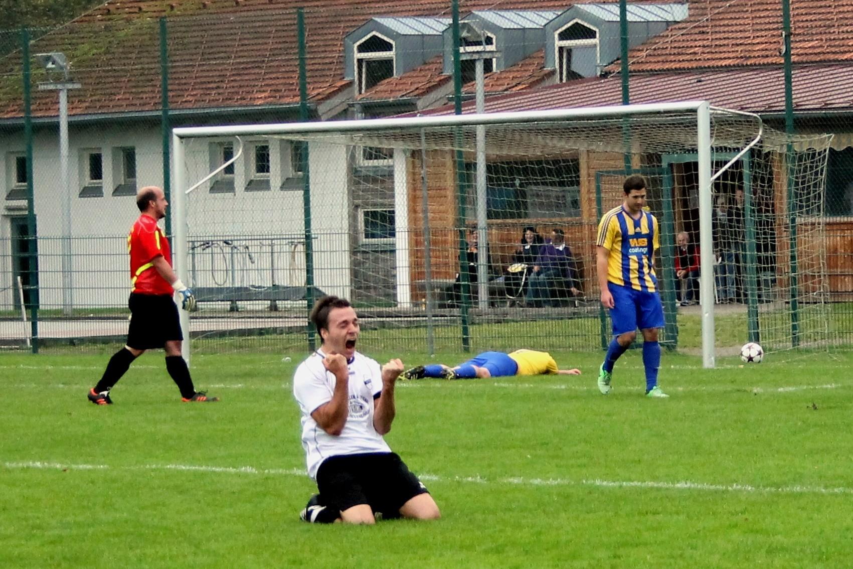 Gegen den TSV Schliersee (3:1) am 5.10.2014