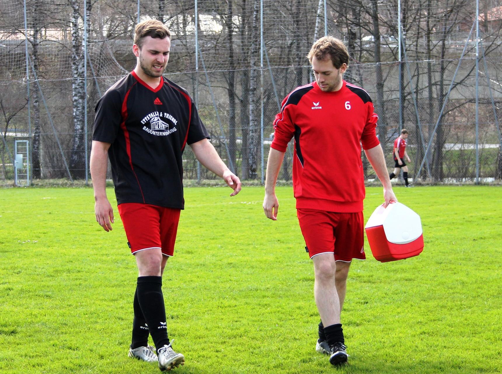 Teamgeist! Gegen SC Rot Weiß Bad Tölz II (0:0) am 12.4.2015