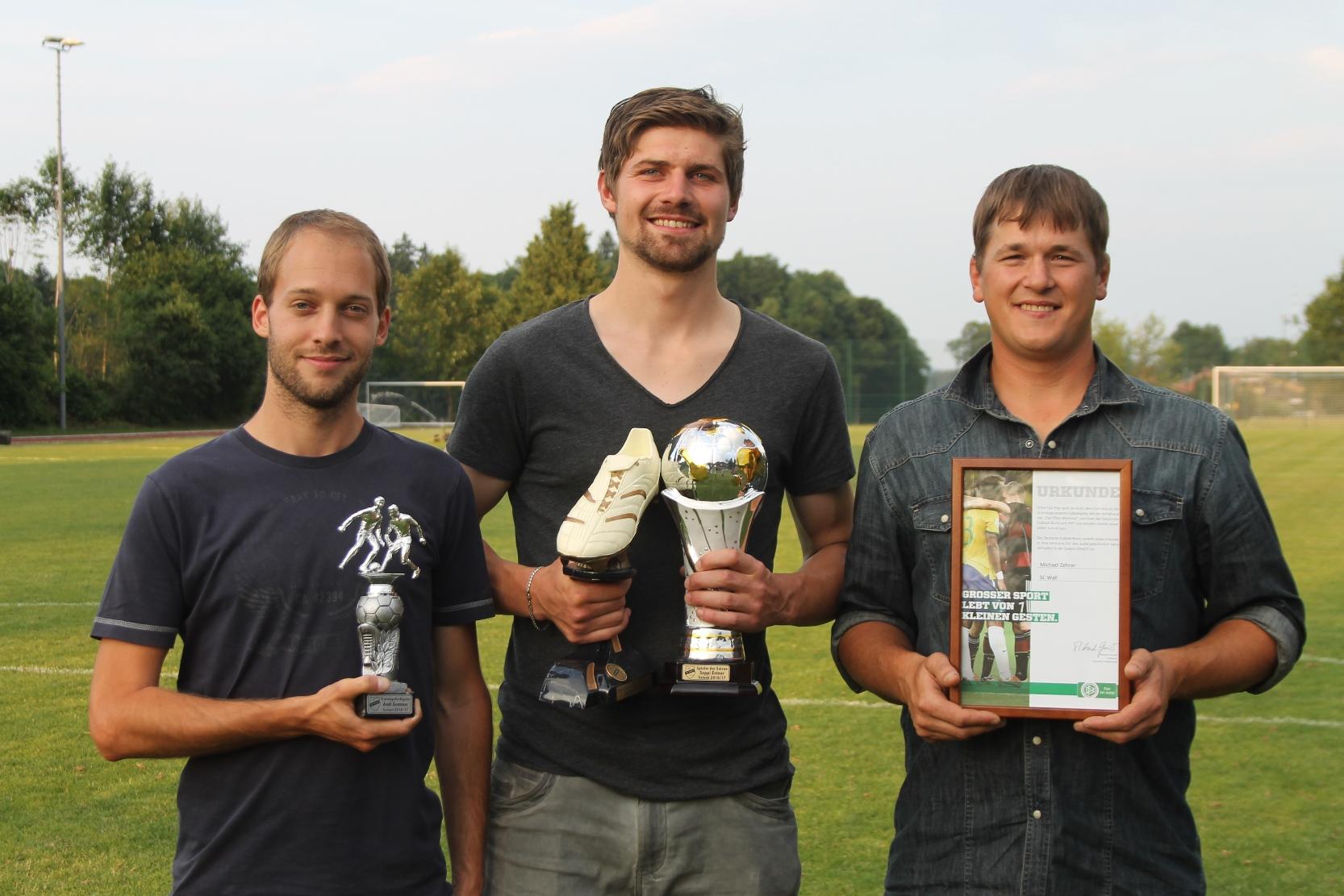 Spieler der Saison - Sonderpreis Fair Play 2017