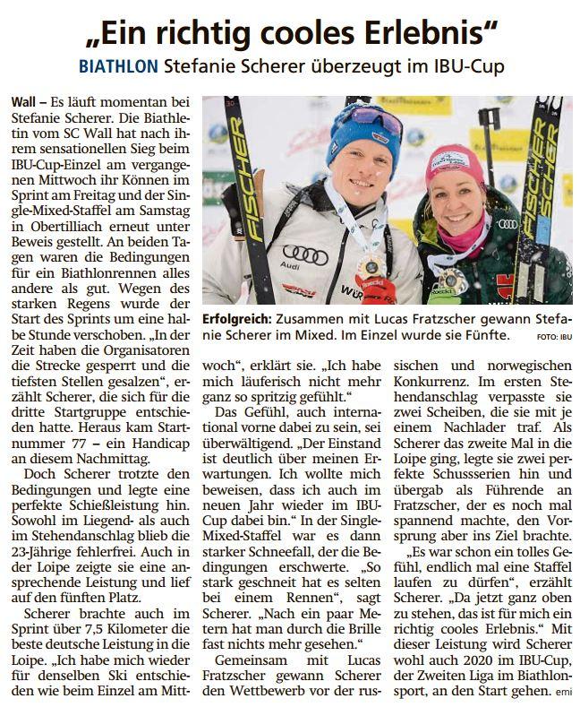 Miesbacher Merkur vom 24.12.2019