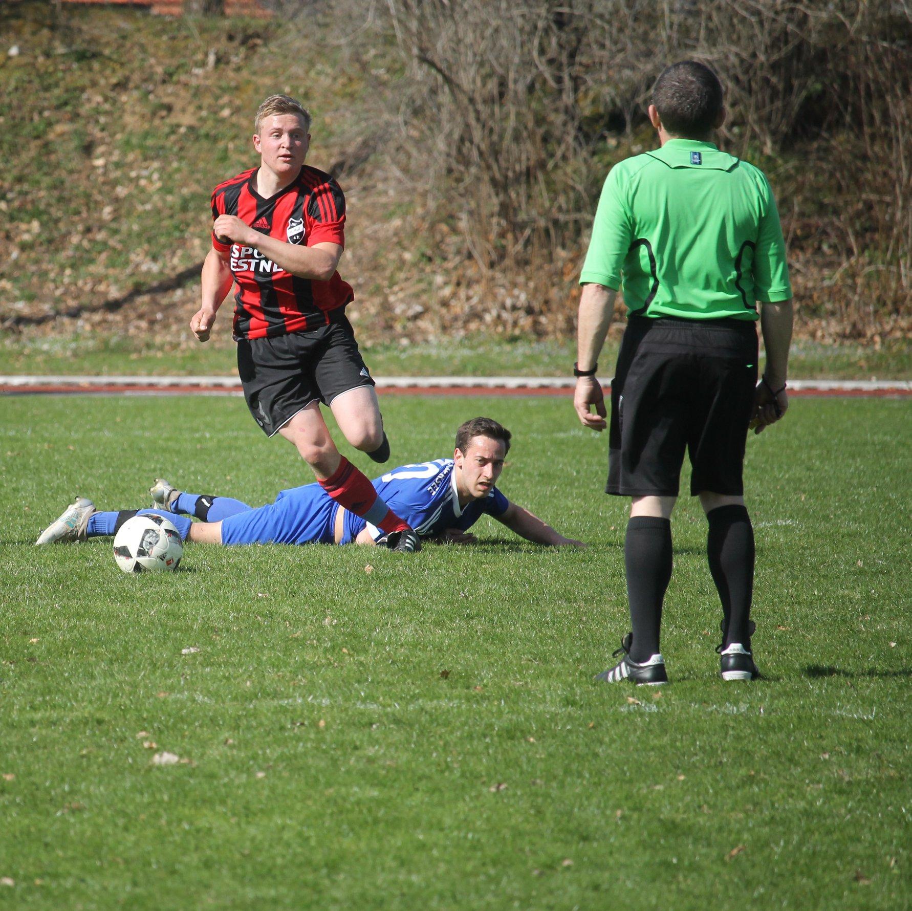 Gegen den TSV Schliersee (4:0) am 8.4.2018