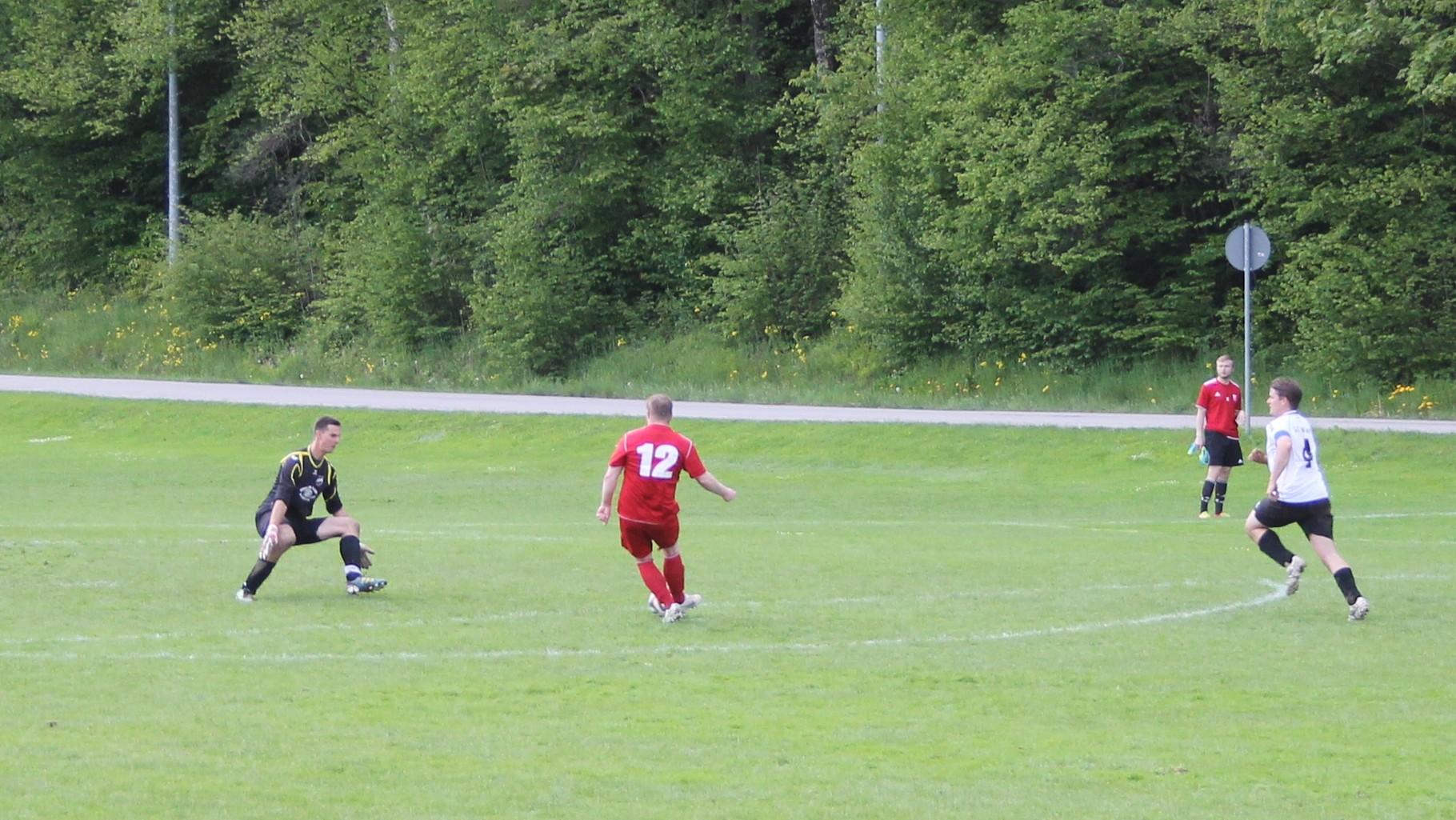 Gegen FC Real Kreuth II, am 18.5.2014