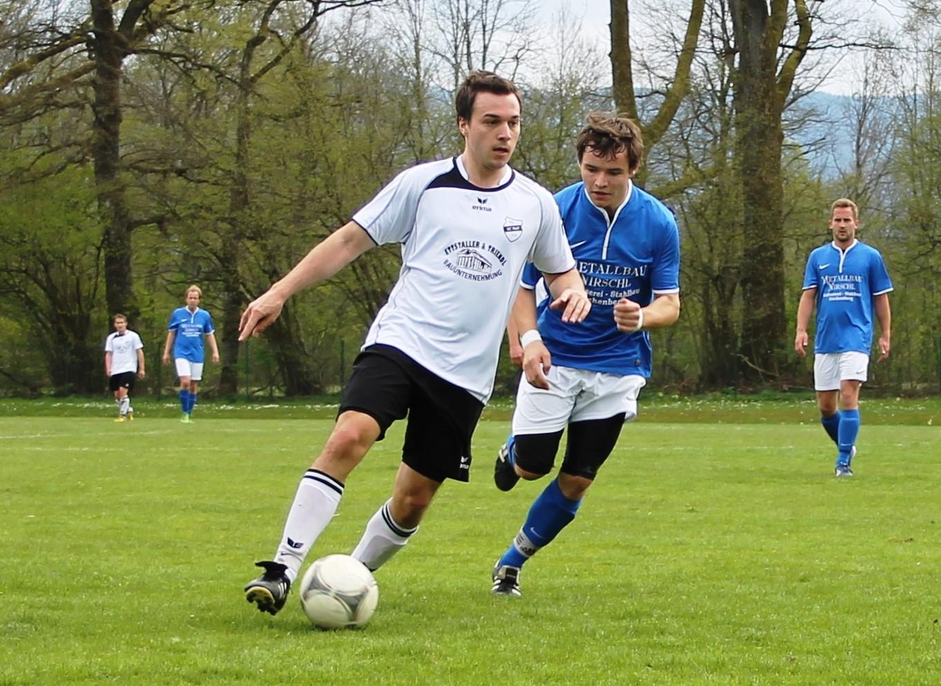 Gegen den TSV Irschenberg (1:4) am 21.4.2014