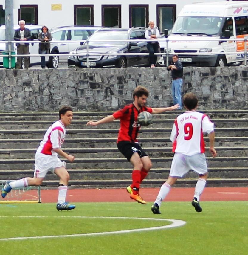 Beim TSV Bad Wiessee (0:1) am 31.5.2015