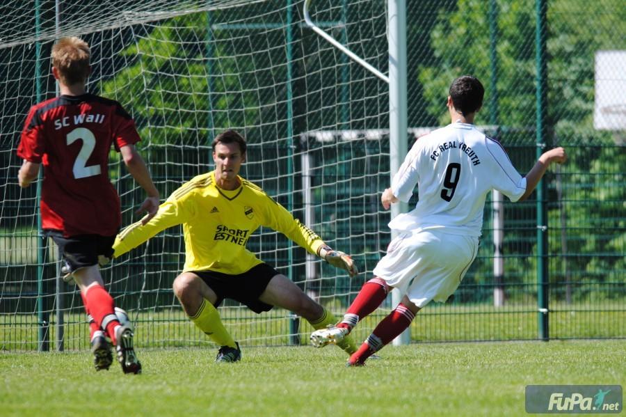 Gegen den FC Real Kreuth II (1:2) am 4.6.2015