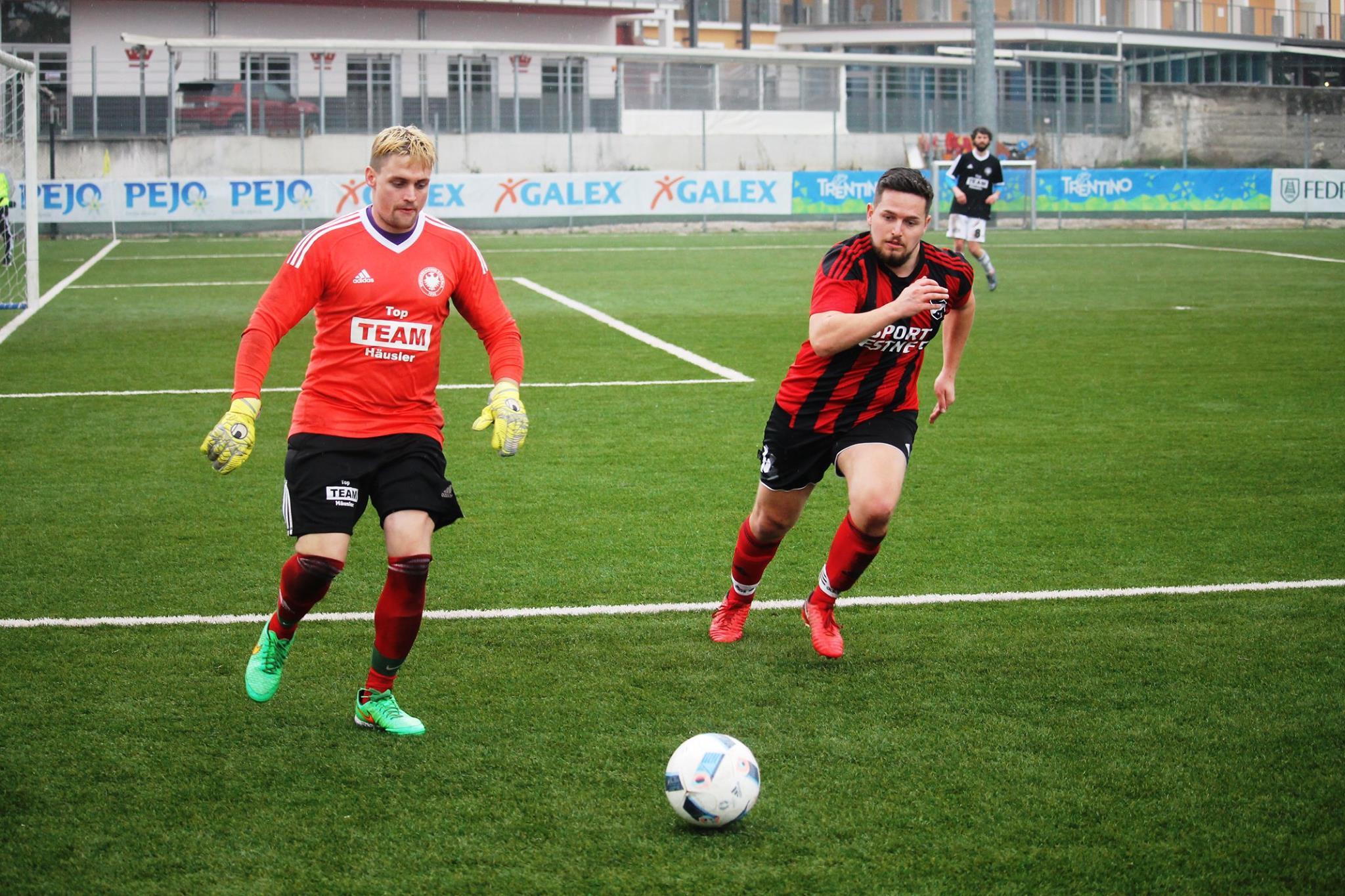 Testspiel gegen SpVgg Rieden / Gardasee (März 2018)