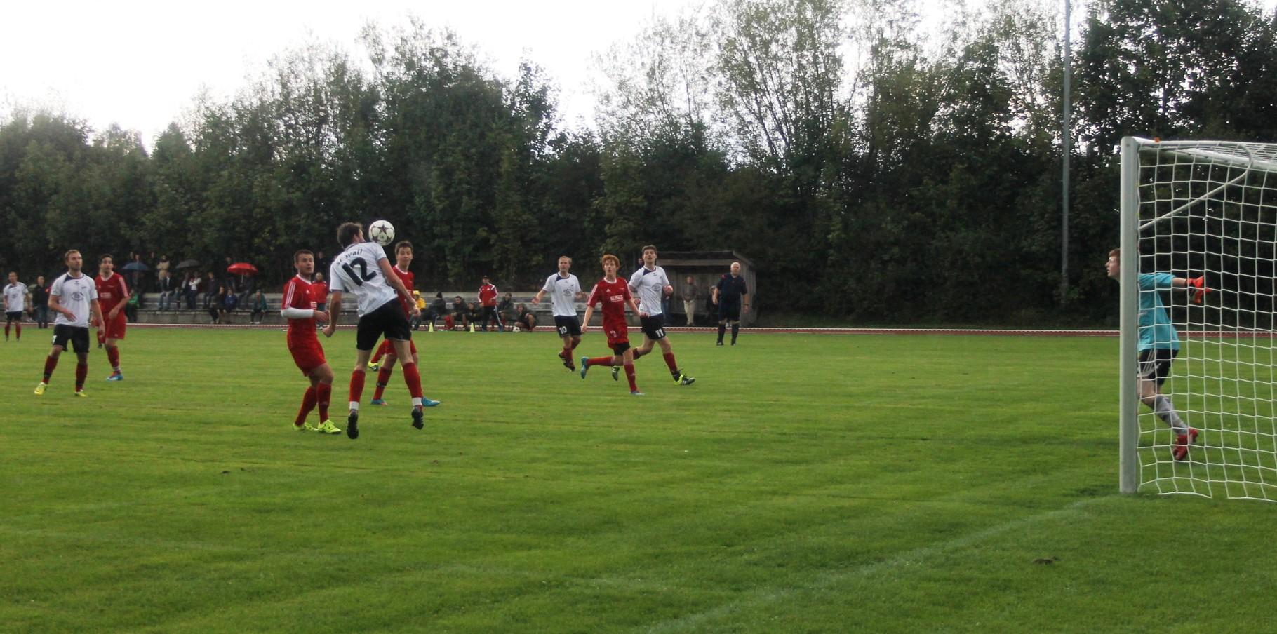 Gegen SG Hausham II (0:0) am 20.9.2015