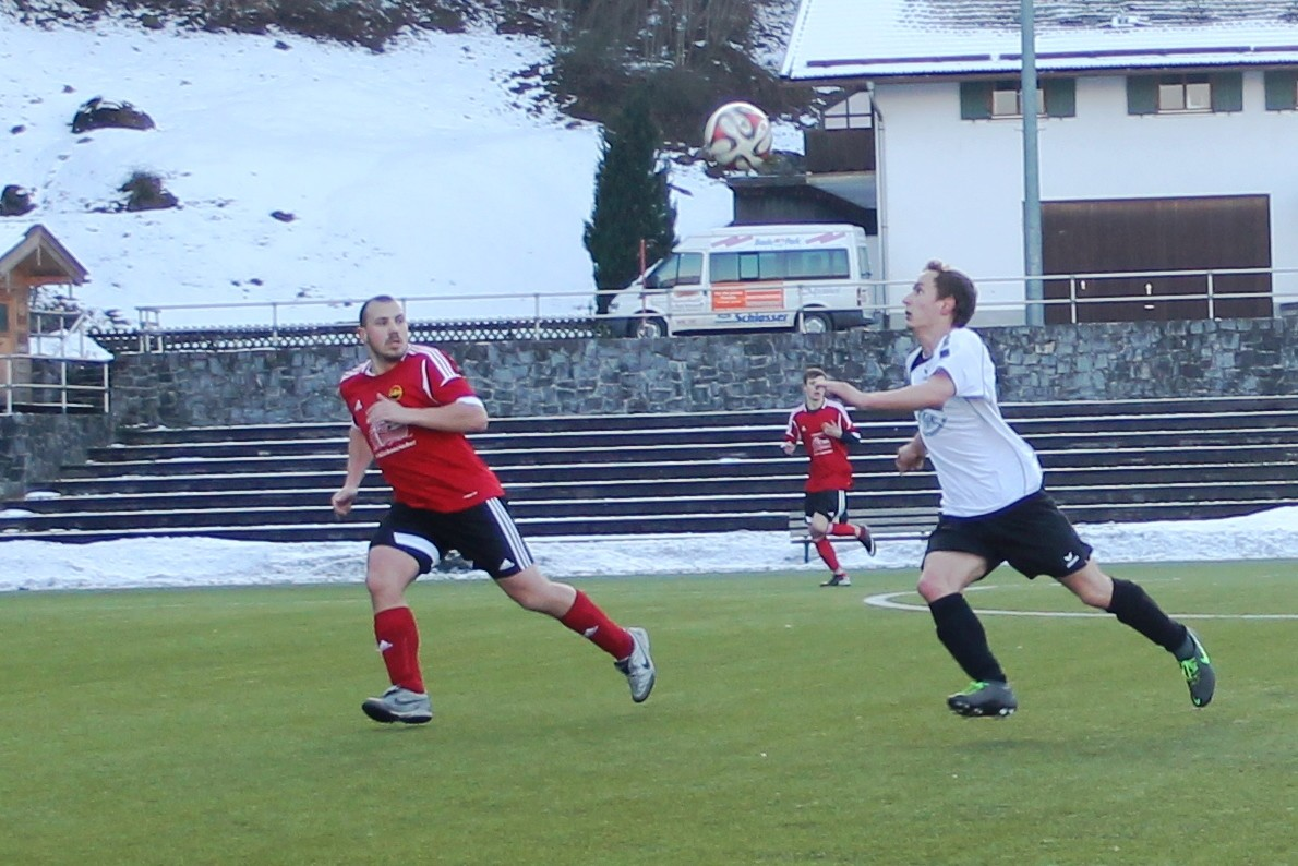Gegen den TSV Otterfing (1:2) Februar 2016