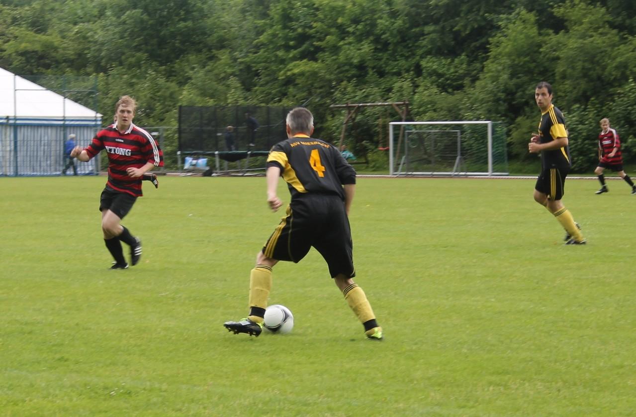 Jubliäumsspiel gegen den ASV Miesbach im Juni 2012