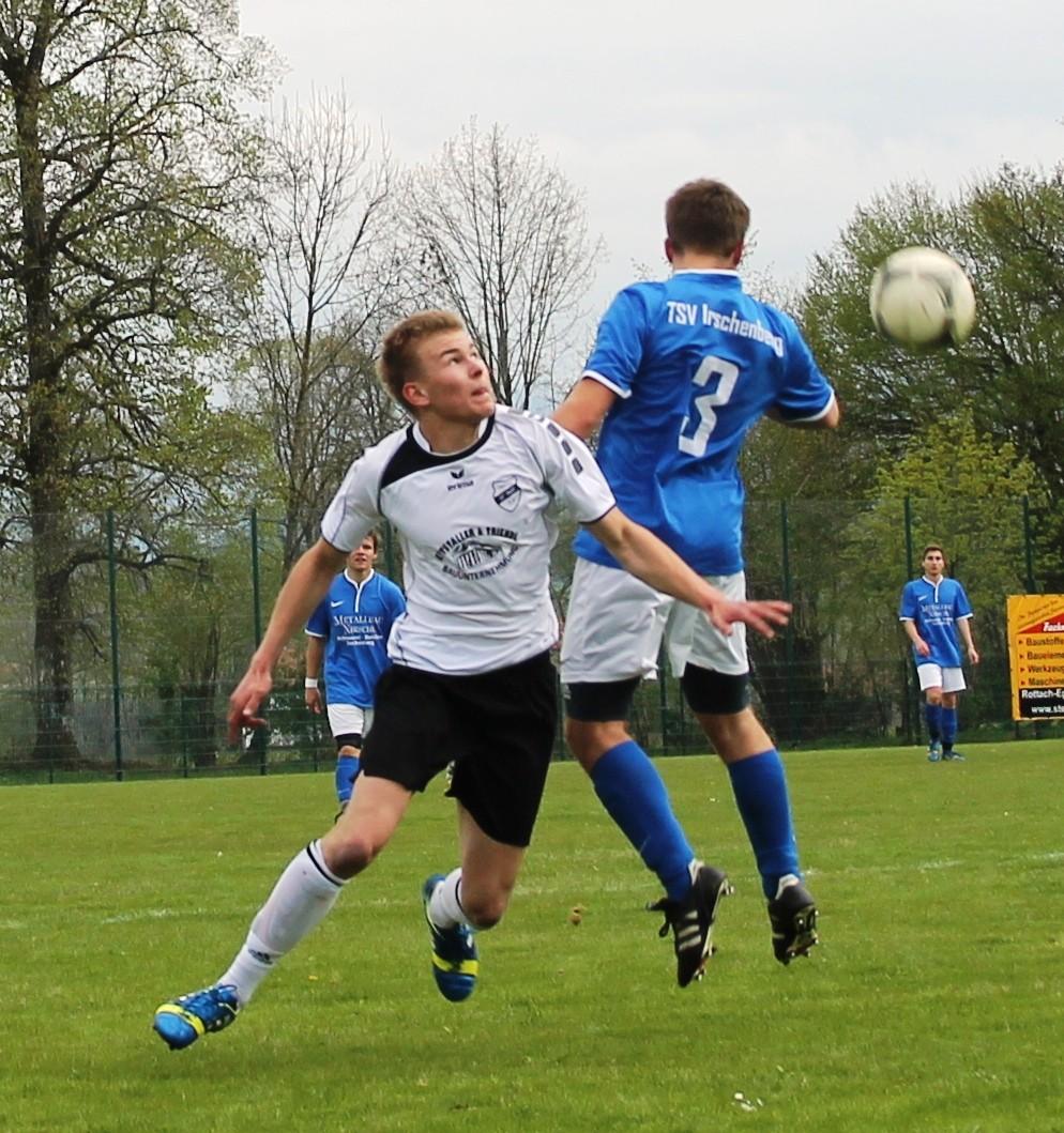 Gegen den TSV Irschenberg 2014/15