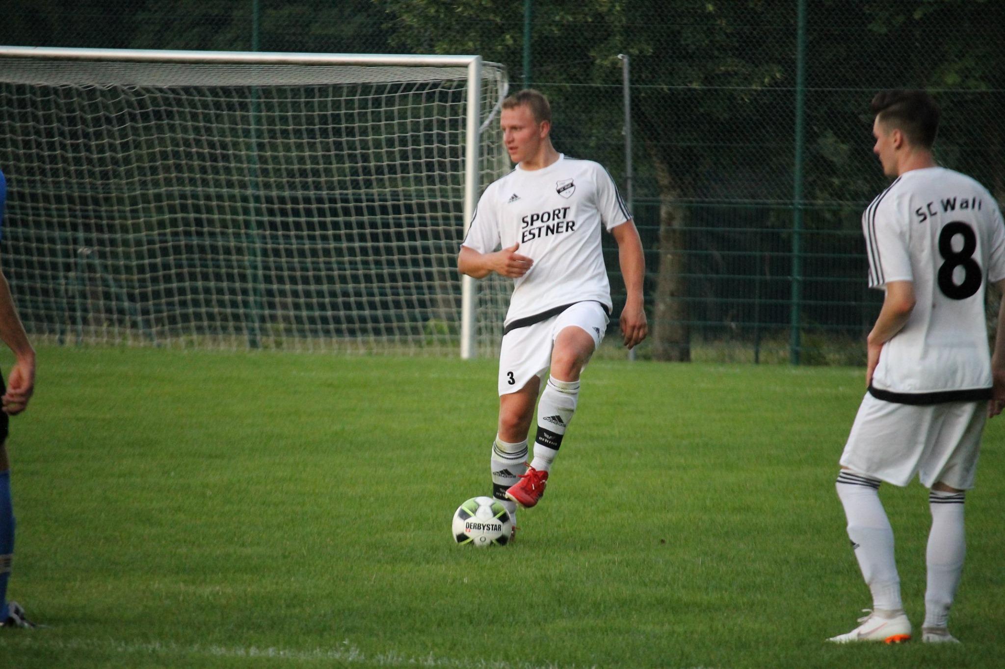 Pokalspiel gegen den TSV Weyarn (Juli 2019)