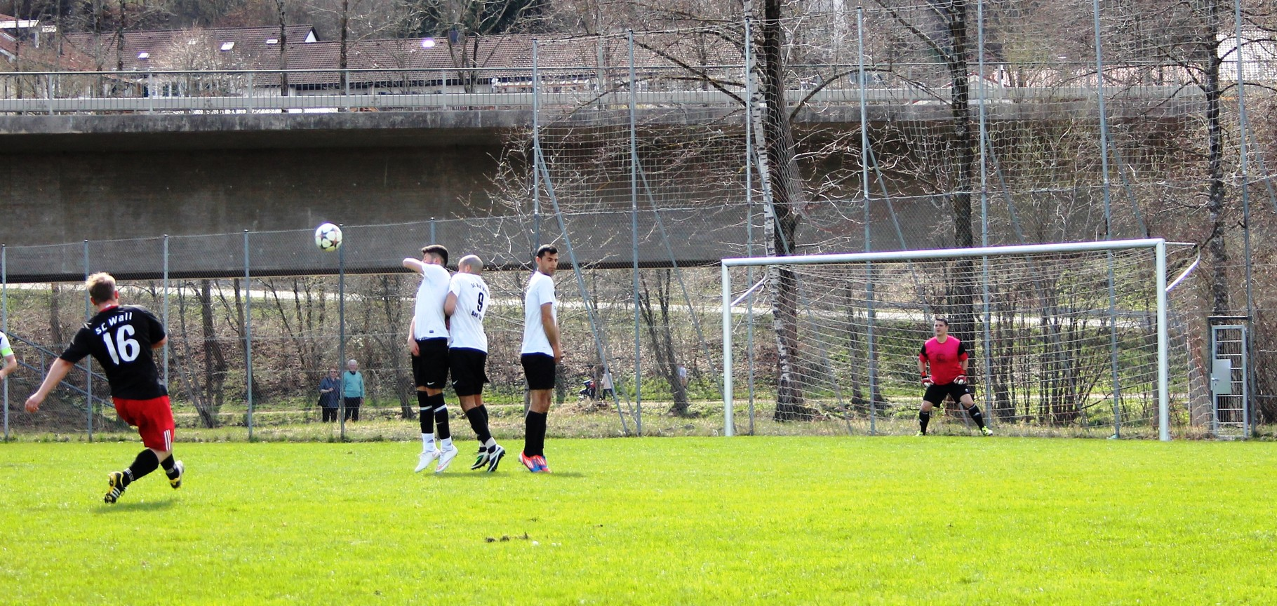Gegen SC Rot Weiß Bad Tölz II (0:0) am 12.4.2015