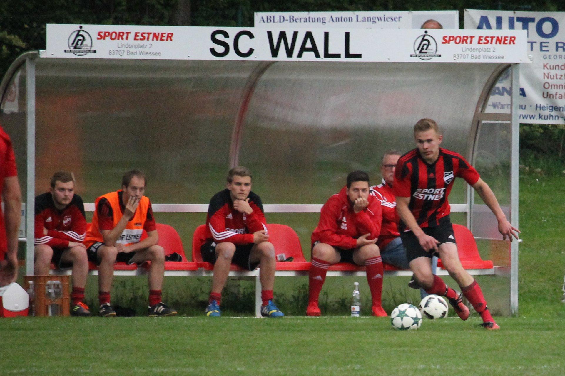Gegen den SV Wackersberg (0:3) am 3.5.2018