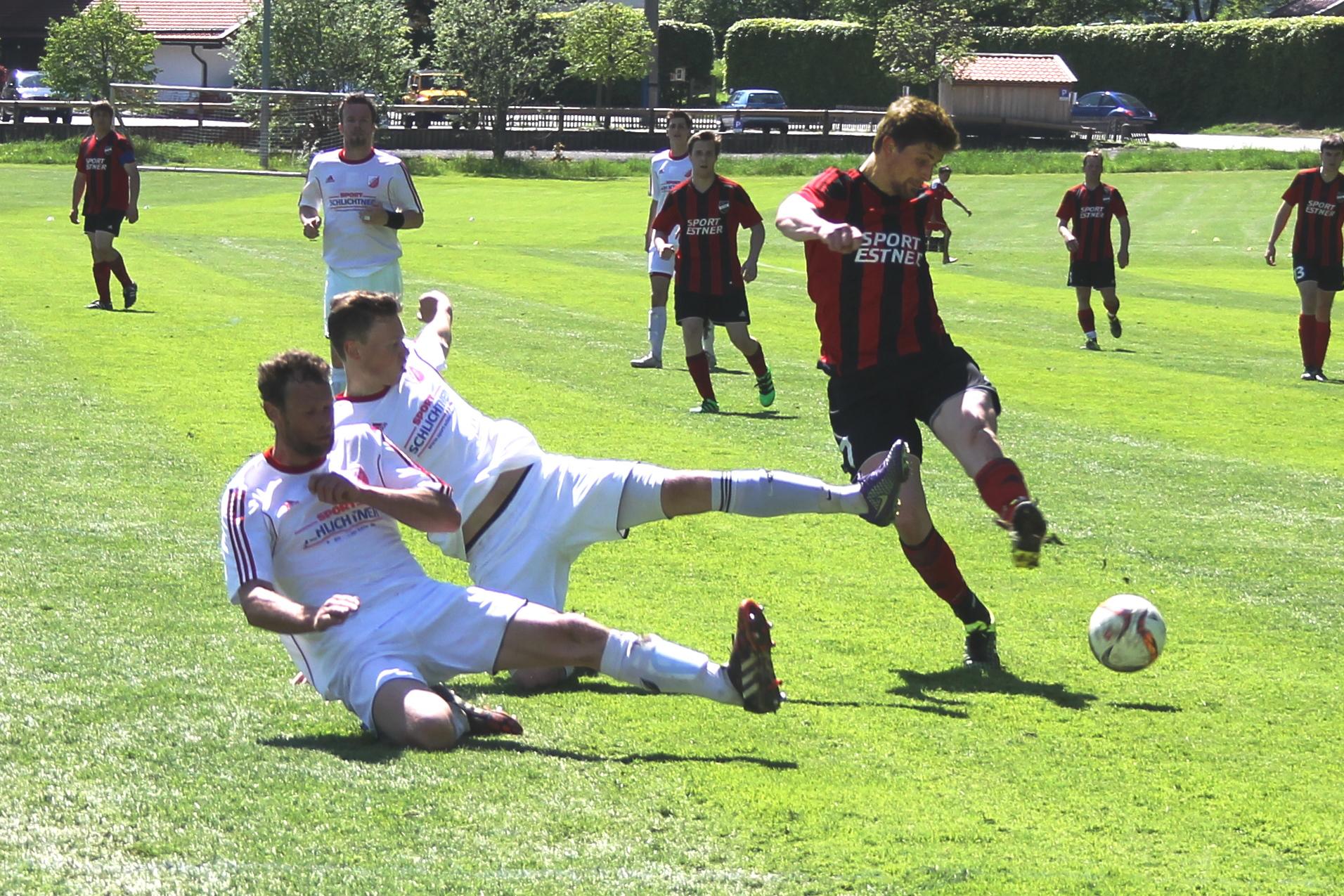 Gegen FC Real Kreuth II (2:0) am 21.5.2016