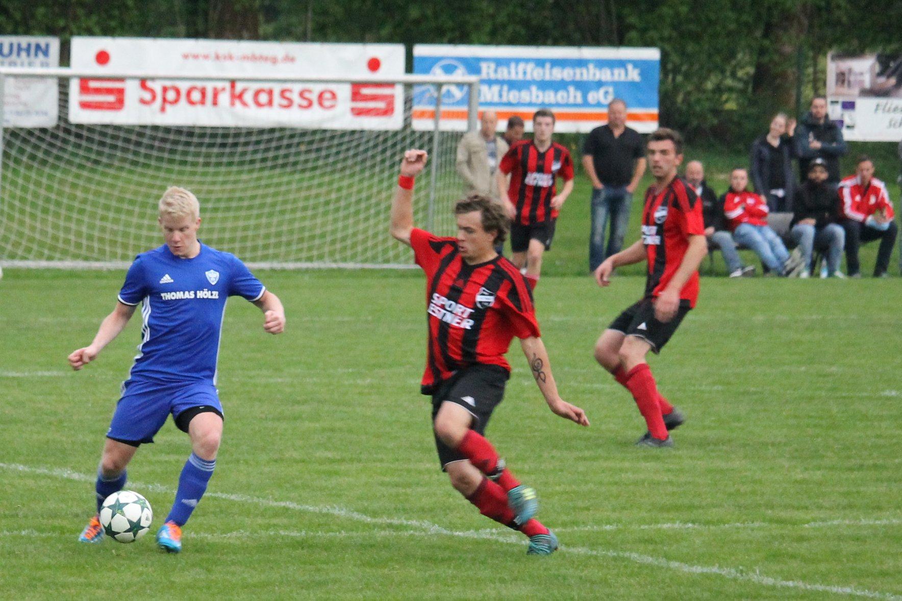 Gegen den SV Wackersberg (0-3) am 3.5.2018