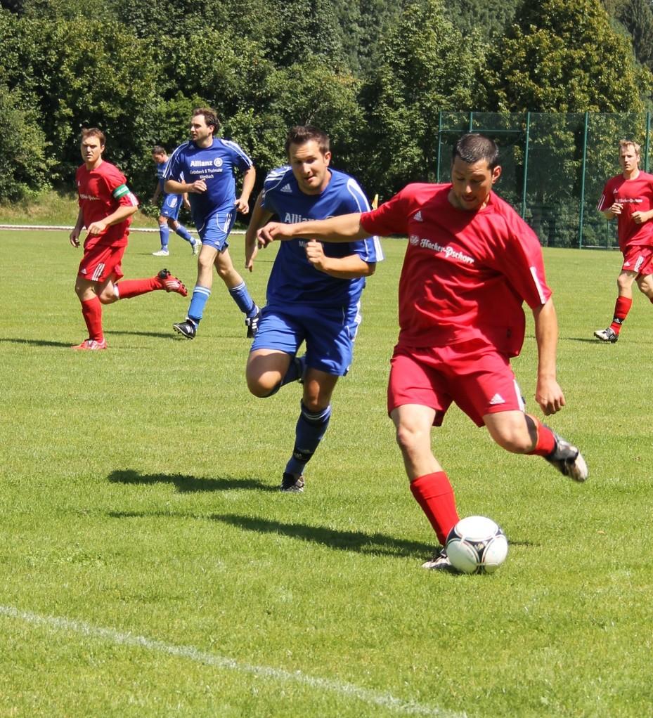 Heimspiel gegen den SV Parsberg II (1:3). Saison 2012/13