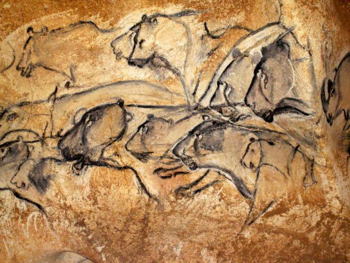 La Grotte Chauvet - Les lionnes