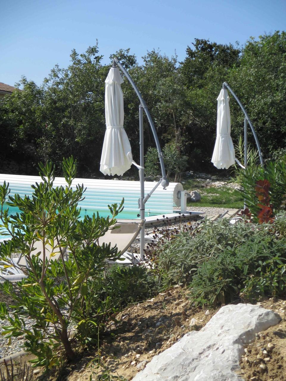 La piscine du Mas de Molines