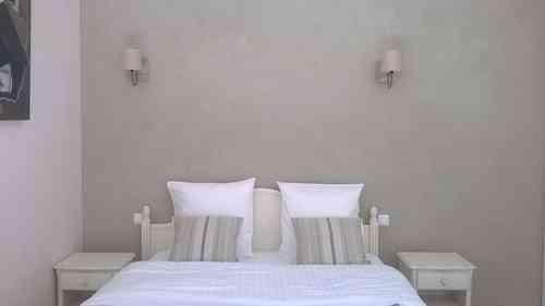 La chambre Camélia du Mas de Molines
