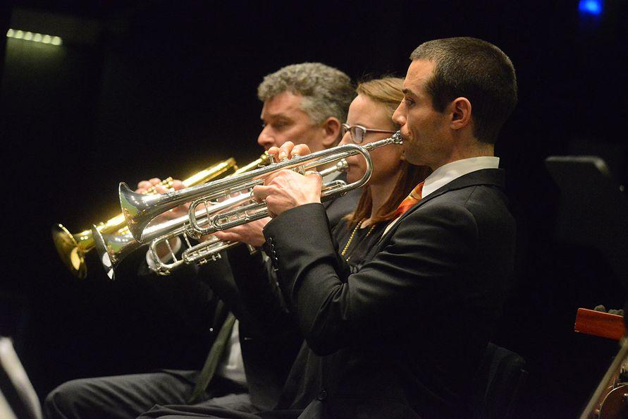 Foto: Zore - Der Trompetensatz der Neuen Sinfonie Villach