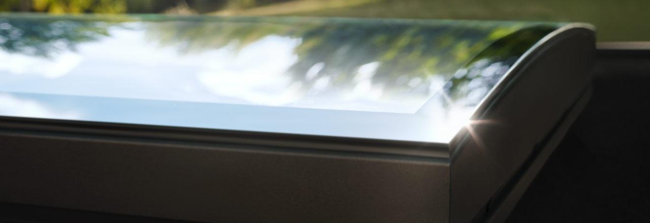 Velux Flachdach Fenster Quot Konvexglas Quot Dirkhoering