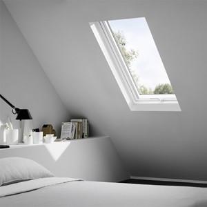 Dachfenster ohne Innenfutter