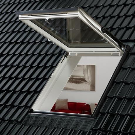 Ausstiegsfenster mit Klapp-Schwing-Funktion