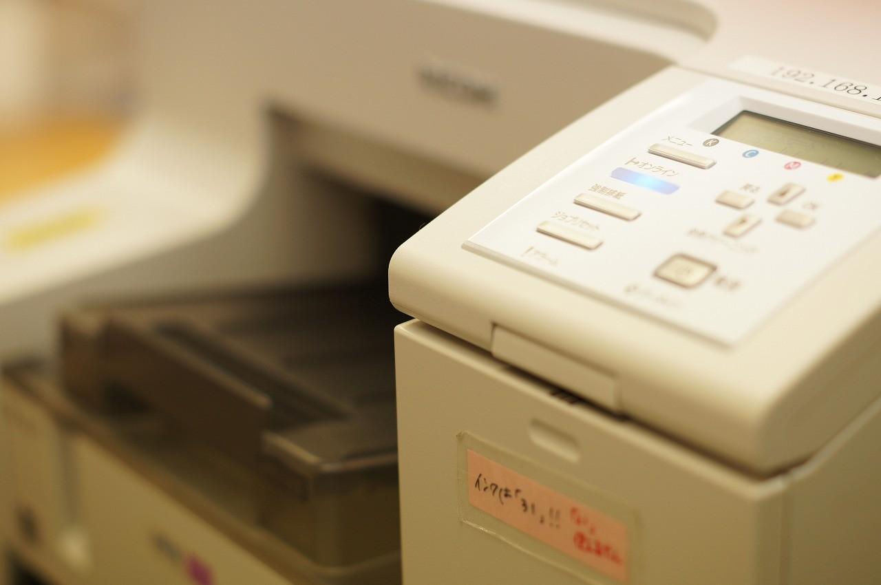 薬袋や情報紙のプリンターです 毎日何枚印刷してるの?