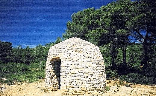 Aljibe en la Sierra de Irta, Castellón.