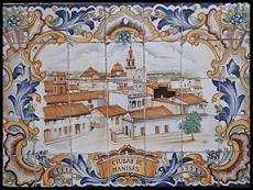 Cerámica del pueblo  Manises Comunidad Valenciana