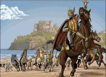 La conquista de Peñiscola por Jaime I