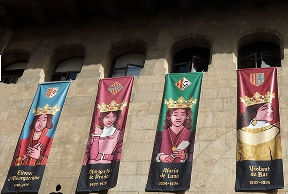 Exposición por primera vez de las figuras  olvidadas de las  monarcas medievales del Reino de Valencia.