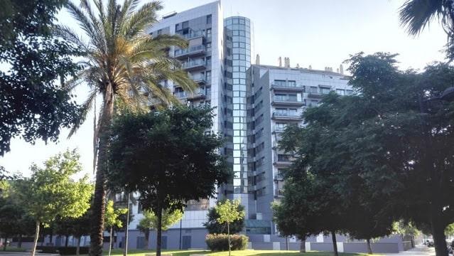 Edificio de la  zona nueva  del barrio de Campanar de la ciudad de Valencia, antigua pedanía.