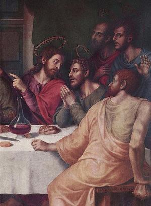 La Última Cena es una obra del pintor Juan de Juanes, pintada alrededor de 1562, empleando la técnica de pintura al óleo sobre una tabla de 116 × 191 cm.