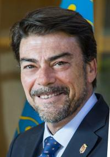 Luis Barcala Sierra (Alcalde de Alicante 2019-23).